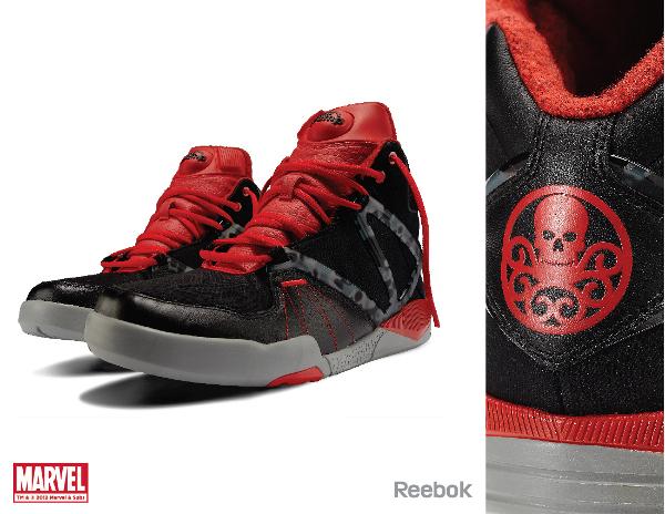 Marvel x Reebok Pump Omni Lite Red Skull
