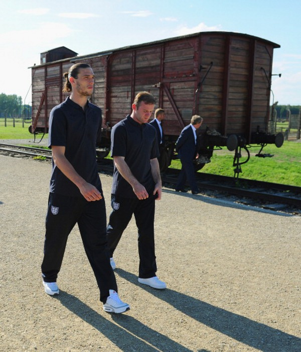 Andy Carroll en Air Max BW