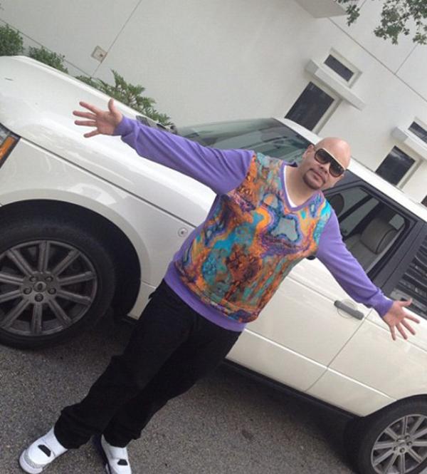 Fat Joe en Air Jordan Son Of Mars