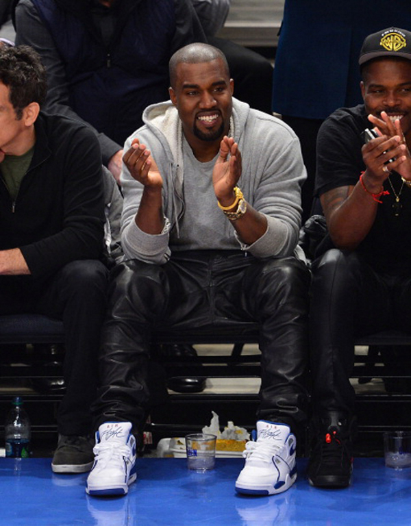 Kanye West en Nike Flight 89