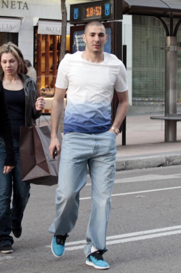 Karim Benzema en Air Jordan 1 Quai 54