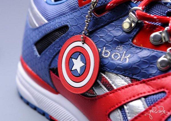 Marvel x Reebok Ventilator Captain America
