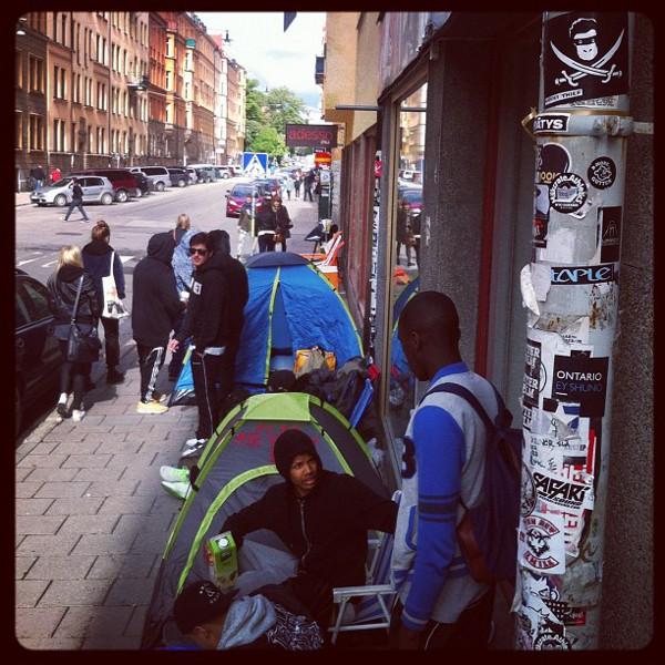 Nike Air Yeezy 2 Sneakersnstuff - Stockholm