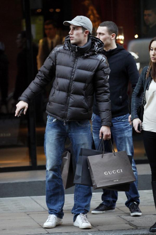 Robin Van Persie en Adidas