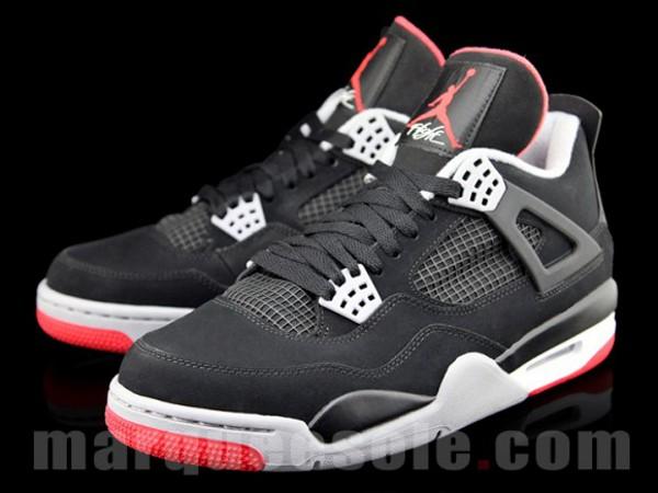 Air Jordan 4 Black Cement Retro 2012