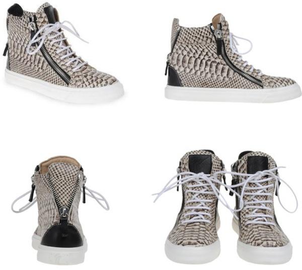 chaussure giuseppe zanotti