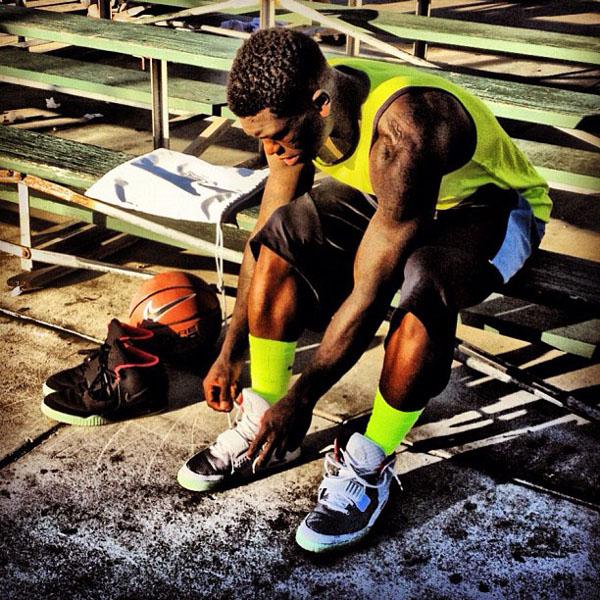 Nate Robinson - Nike Air Yeezy 2