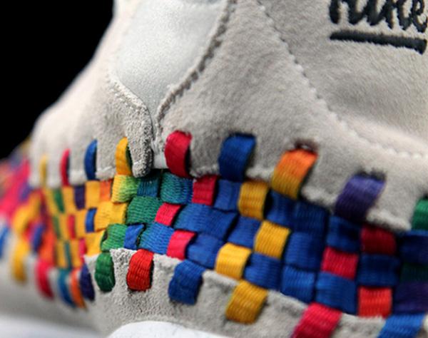 Des Nike Footscape Woven «Arc-en-ciel»