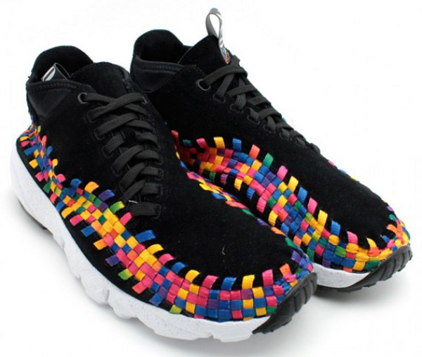 Nike Air Footscape Woven Chukka Rainbow