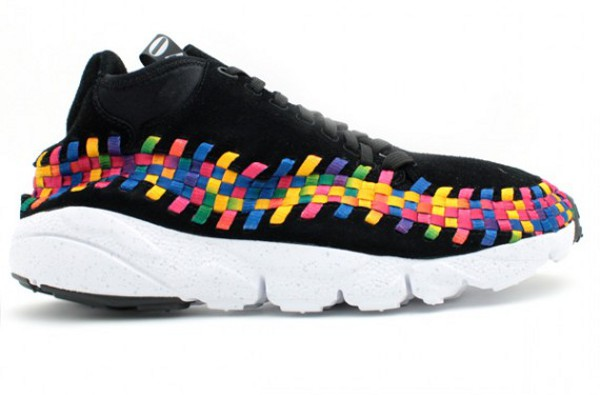 check out e2421 ff3e5 Nike Air Footscape Woven Chukka Rainbow