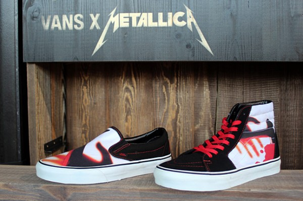 "Metallica x Vans Classic ""Kill Them All"""