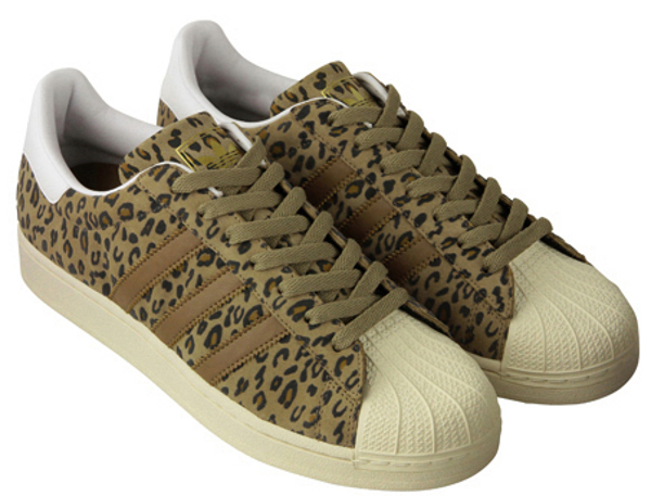 "Adidas Superstar Originals ""Leopard & Zèbre"""