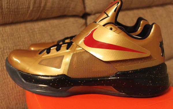 Nike KD 4 Gold Medal