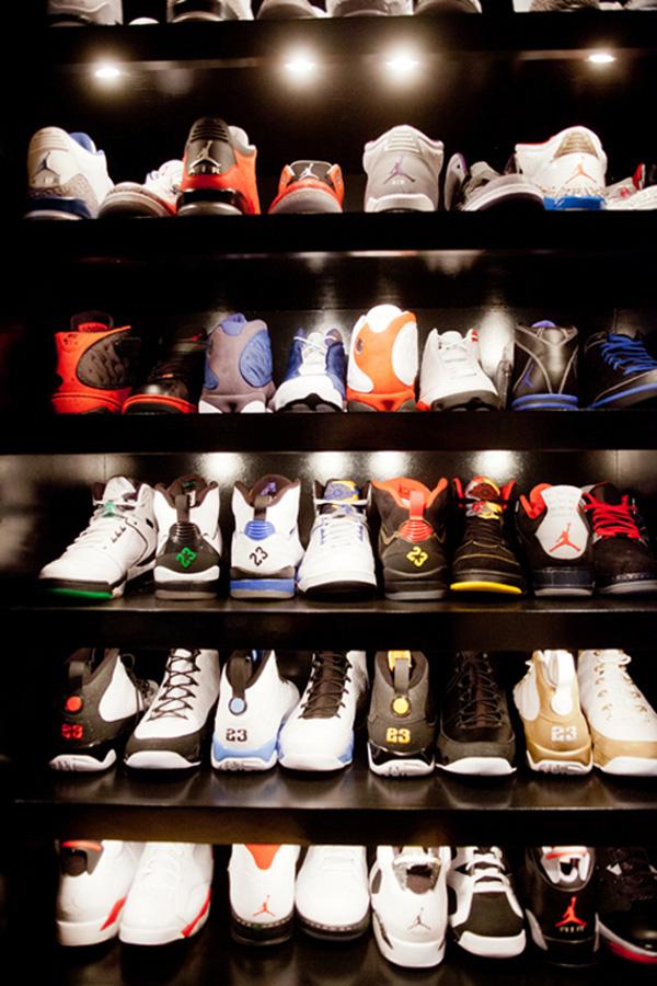 Une collection de plus de 1000 paires de Jordan !