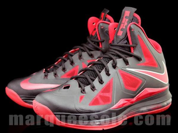 Nike Lebron 10 Bred