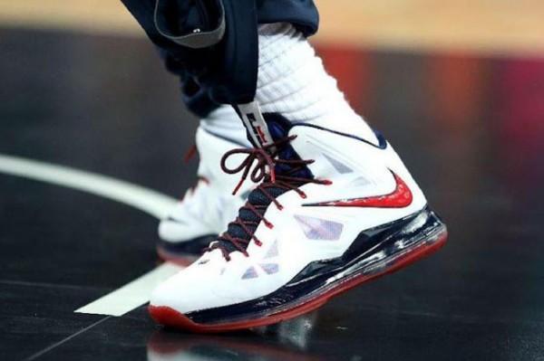 La Nike + Lebron 10 (X) : 11 images du diamant !