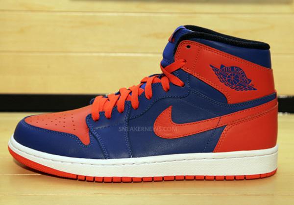 air jordan bleu orange