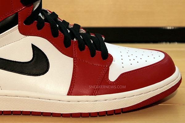 Air Jordan 1 High OG Retro 2013 Rouge/Blanc/Noir