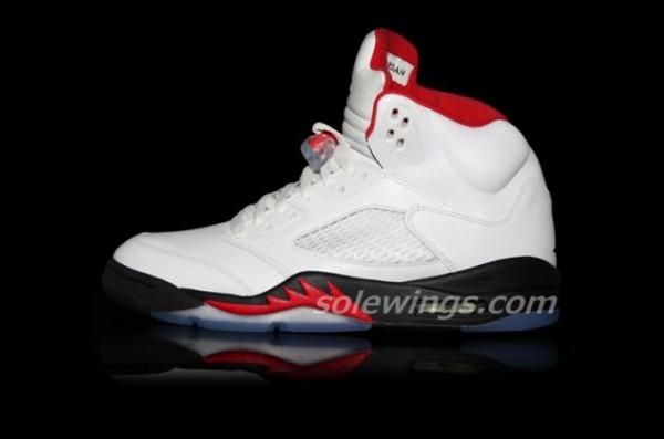 Air Jordan 5 (V) Retro Fire Red 2013