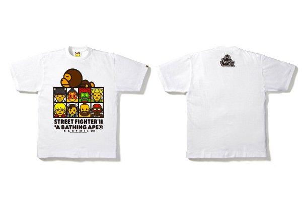 Street Fighter x Bape