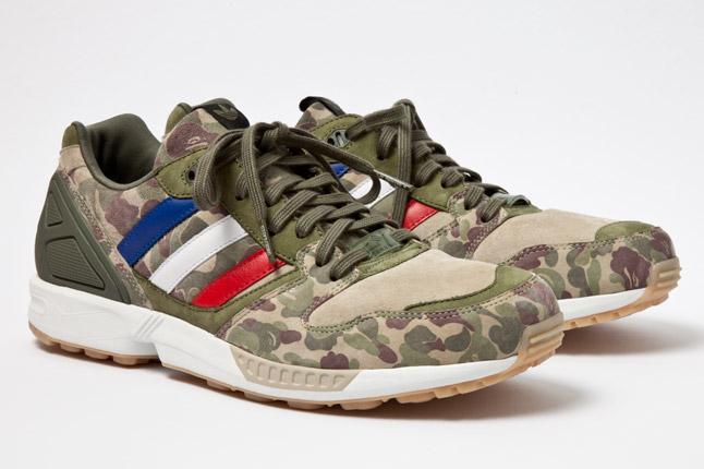 adidas NMD x Bape : La basket à l'imprimé camouflage se