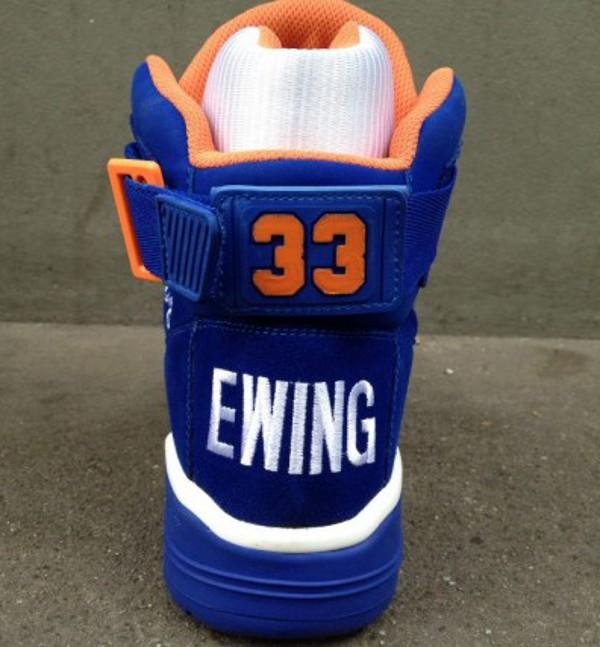 Ewing 33 Hi Black & Royal Suede
