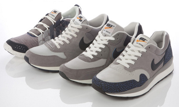 Nike Air Safari Grey & Navy Scale