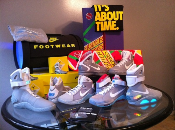 Collection Nike Marty Mcfly