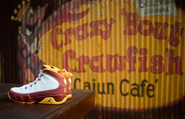 Air Jordan 9 Bentley Ellis Crawfish sneakers actus