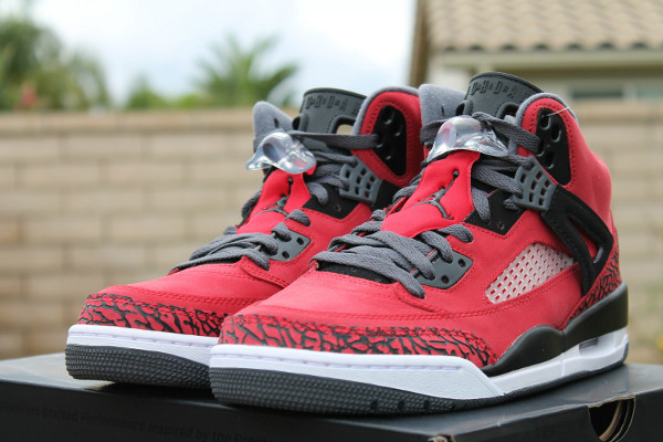 Air Jordan Spizike Gym Red