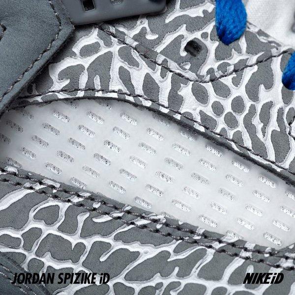 Air Jordan Spizike ID avec imprimé éléphant