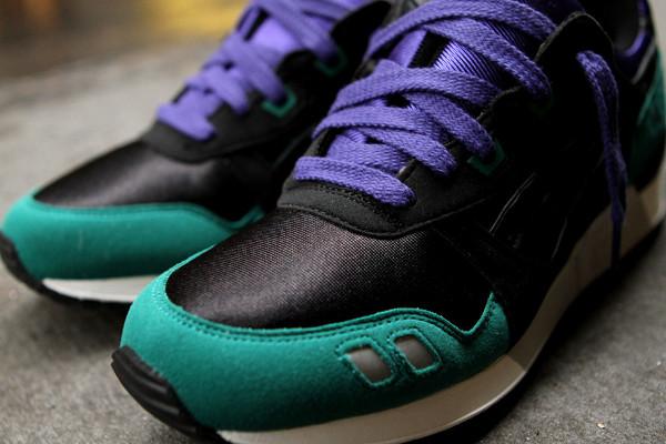 bas prix ddc2b 25abc Asics Gel Lyte 3 vert émeraude et noir - chaussure