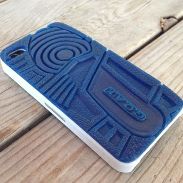 étui air jordan 3 true blue iphone 4