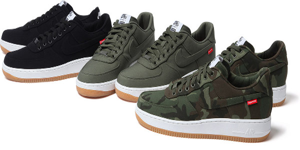 new arrival a03be ad4f8 Supreme a créé 3 Nike Air Force 1 Low. Les baskets sont attendues pour le  mois de novembre. Nous ne savons pas encore si elles seront en vente en  France.