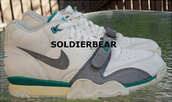 Nike Air Trainer 1 White turquoise