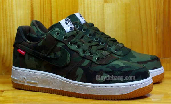 Nike Air Force 1 Supreme Camo