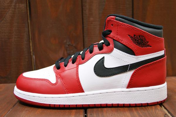 AIR JORDAN 1 RETRO 2013 HIGH OG WHITE/VARSIYT RED-BLACK
