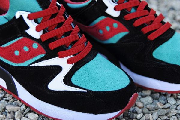 d130e7381b Saucony Grid 9000 Bait vert viridian - chaussure