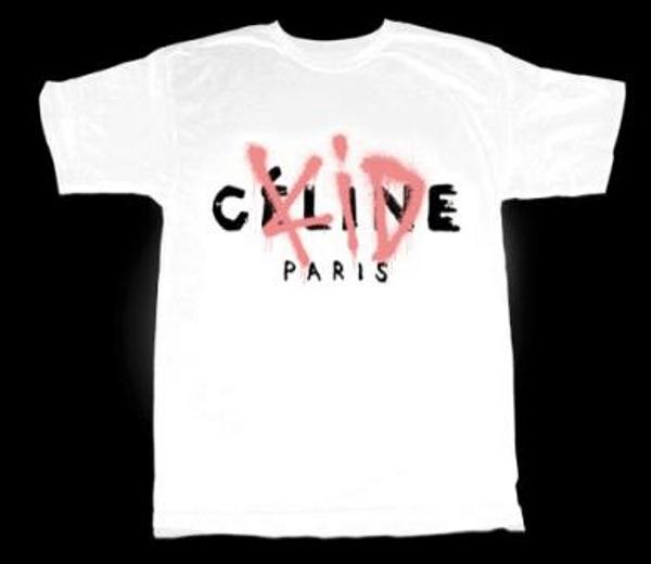 T shirt Celine Kidult