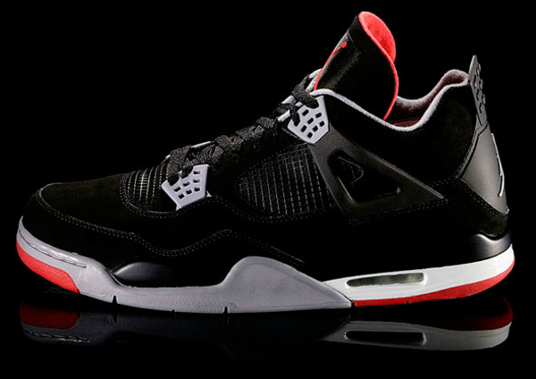 Air Jordan 4 Bred 2012