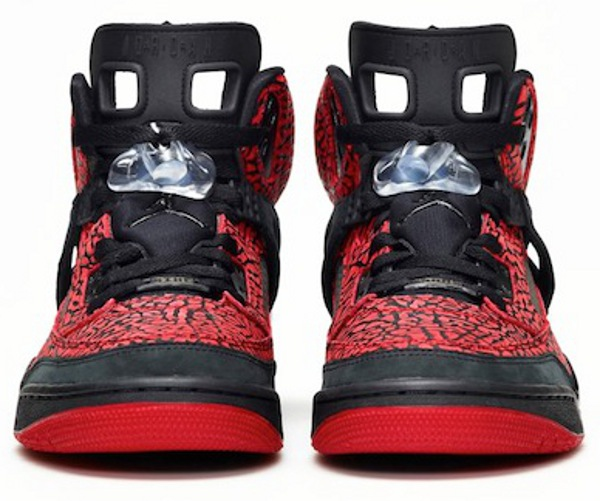 Air Jordan Spizike ID Red Flip