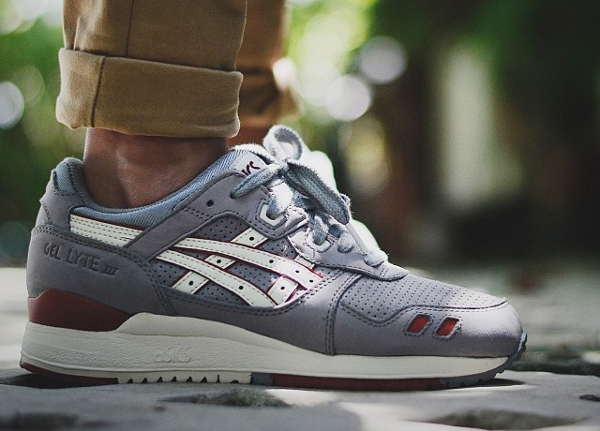asics gel lyte 2 bordeaux