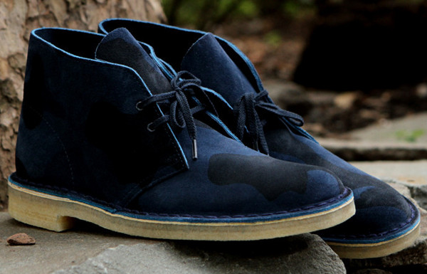 Clarks Desert Boot Camo