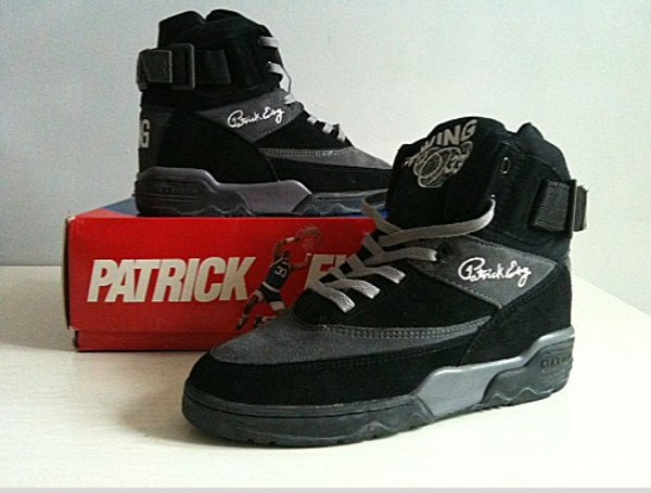 Ewing 33 Hi 33 Black Suede