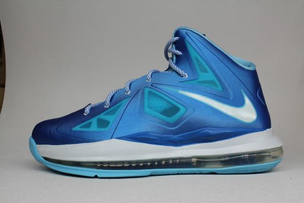 Nike Lebron X Plus Bleu Diamond Chaussure