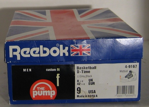Reebok Pump D Time 1991