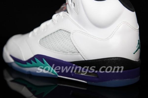 Air Jordan 5 Grape Retro 2013