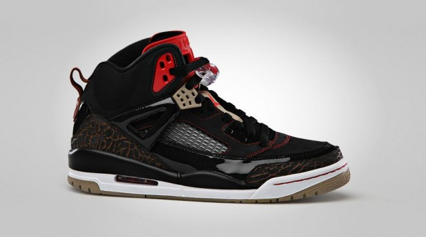 Air Jordan Spizike – Black / Challenge Red