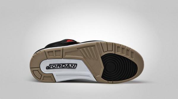 Air Jordan Spizike – Black / Challenge Red