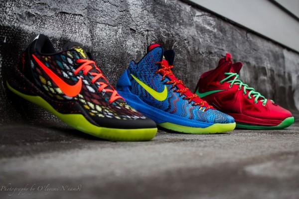 Nike Basketball Christmas